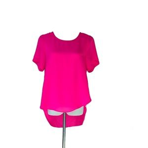 Sugarlips Hot Pink Blouse